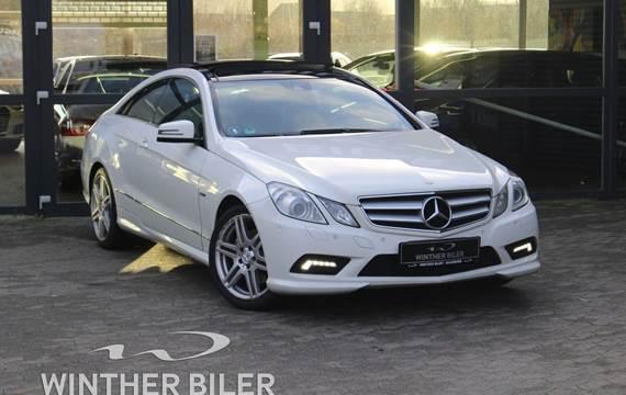 Mercedes E350 3,0 CDi Coupé aut. BE