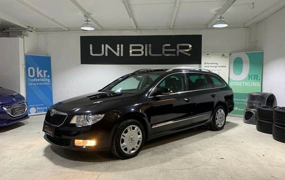 Skoda Superb 2,0 TDi 140 Ambition Combi DSG
