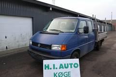 VW Transporter 2,5 TDi 102 Mandskabsvogn m/lad
