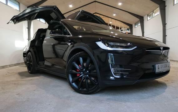 Tesla Model X P100D Ludicrous
