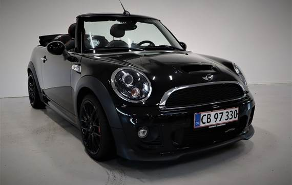 Mini Cooper S 1,6 JC Works Cabriolet aut.