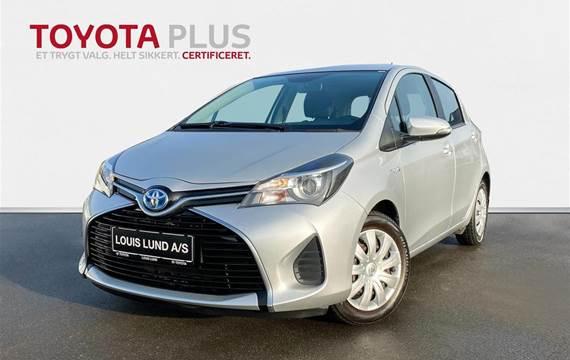 Toyota Yaris 1,5 B/EL H2 E-CVT  5d Trinl. Gear