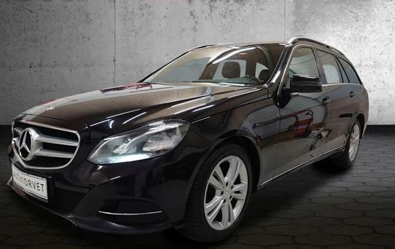 Mercedes E220 2,2 CDi Avantgarde stc. aut.