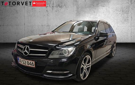 Mercedes C350 3,0 CDi stc. aut. BE