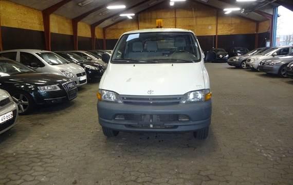 Toyota HiAce 2,4 TD Van Komfort 4WD