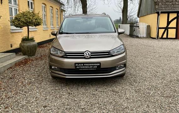 VW Touran 1,6 TDi 115 Sound DSG