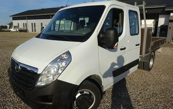 Opel Movano 2,3 CDTi 163 Crew Cab L3