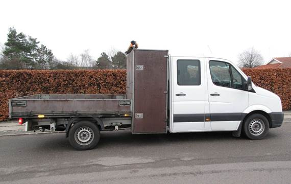 VW Crafter 2,0 TDi 163 Chassis m/lad L