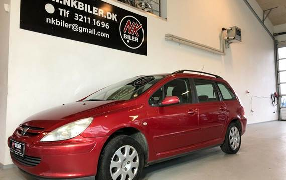 Peugeot 307 2,0 HDi XRE stc.
