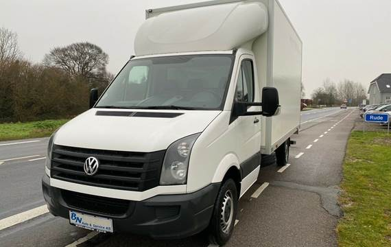 VW Crafter 2,0 TDi 163 Alukasse m/lift L