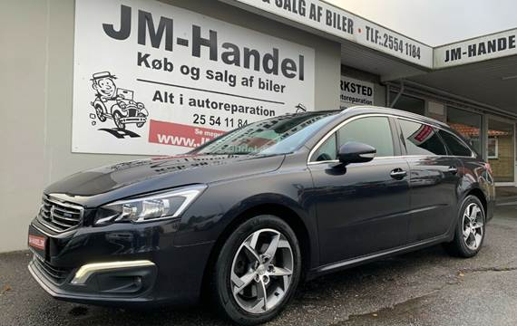 Peugeot 508 2,0 BlueHDi 180 Allure SW EAT6