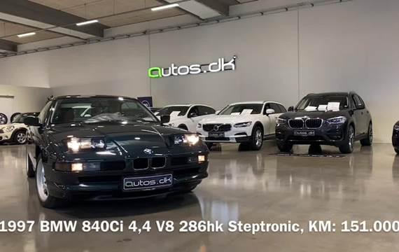 BMW 840Ci 4,4 Coupé