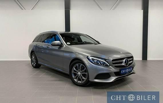 Mercedes C220 d 2,2 Avantgarde stc. aut. Van