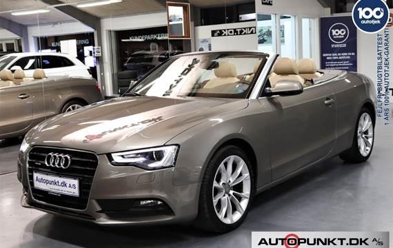 Audi A5 3,0 TFSi Cabriolet quattro S-tr.