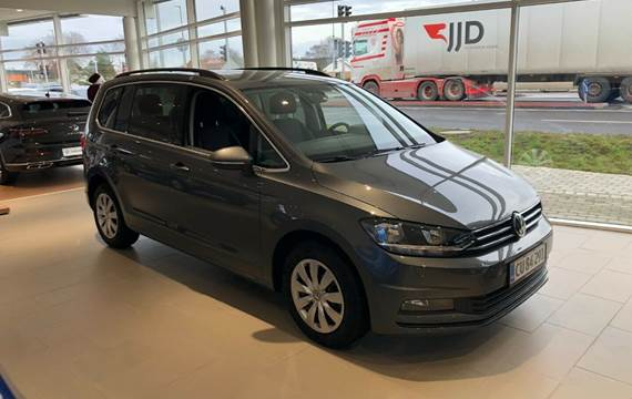 VW Touran 2,0 TDi 115 Comfort. Family DSG 7p