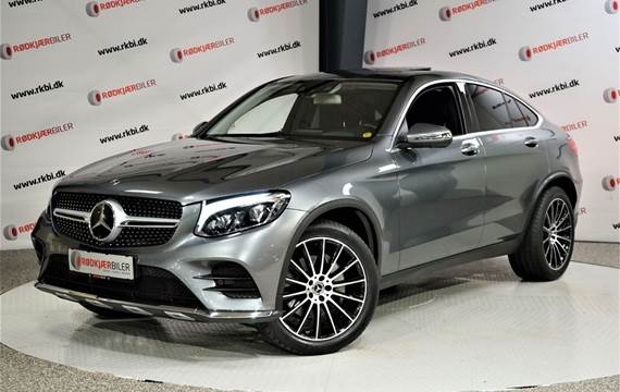 Mercedes GLC250 d 2,2 AMG Line Coupé aut. 4Matic