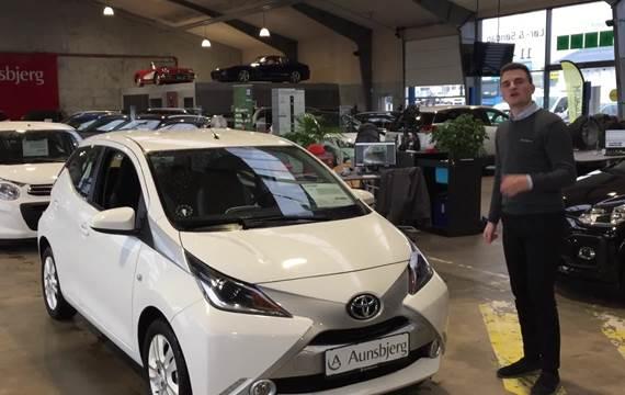 Toyota Aygo 1,0 VVT-i x-pure