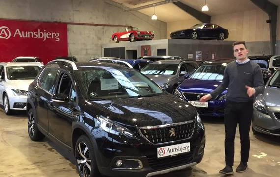 Peugeot 2008 1,6 BlueHDi 120 Allure Sky