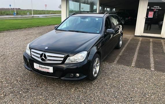 Mercedes C200 2,2 CDi Elegance stc. BE