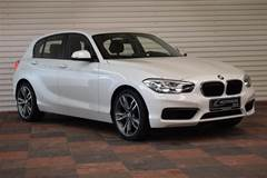 BMW 118d 2,0 D Connected Steptronic  5d 8g Aut.