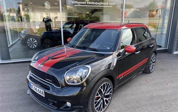 Mini Countryman 1,6 John Cooper Works 1,6 4x4 218HK 6g Aut.