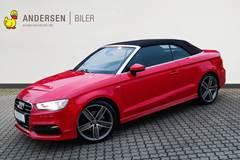Audi A3 1,8 TFSI Ambiente Quat S Tron 180HK Cabr. 6g Aut.