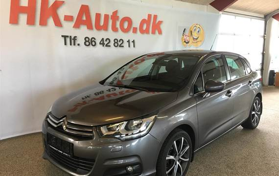 Citroën C4 Blue HDi Seduction start/stop 120HK 5d 6g