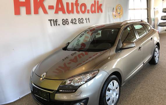 Renault Mégane Sport Tourer 1,5 DCI Limited Energy 110HK Stc 6g
