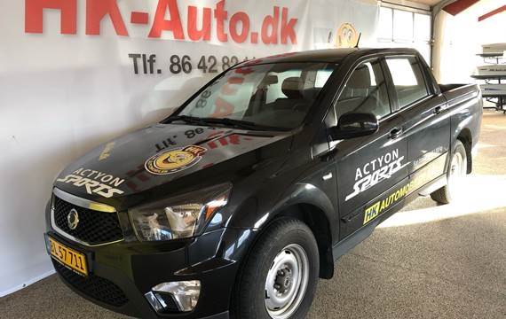 SsangYong Actyon Sports D Free 4WD 155HK Pick-Up 6g                 F