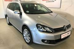 VW Golf VI 1,6 TDi 105 Highline Variant DSG BMT