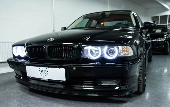 BMW 740d 3,9 Steptr.