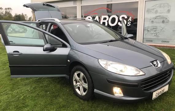 Peugeot 407 1,6 SW 1,6 HDI Performance 109HK Stc