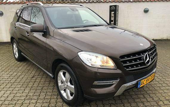 Mercedes ML350 3,0 BlueTEC aut. 4-M Van