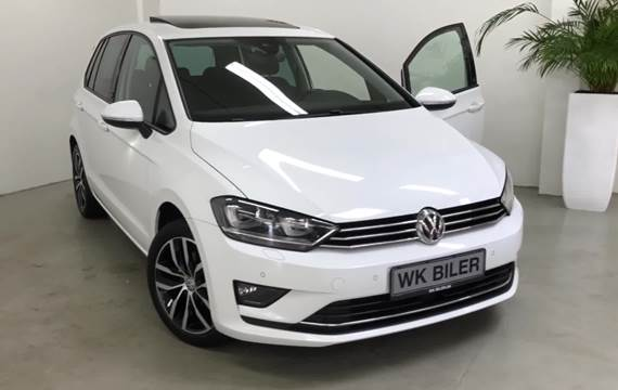 VW Golf Sportsvan 1,6 TDi 115 Sound DSG BMT