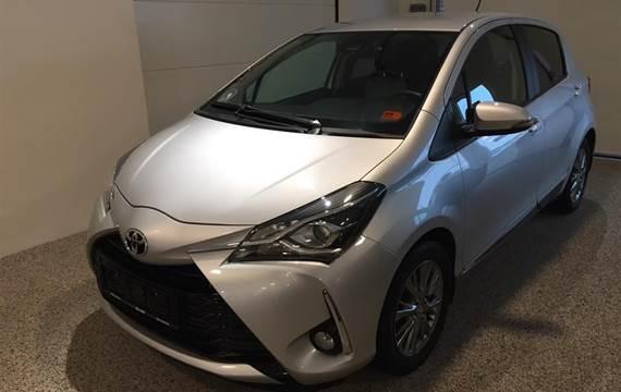 Toyota Yaris 1,5 VVT-I T2  5d 6g Aut.