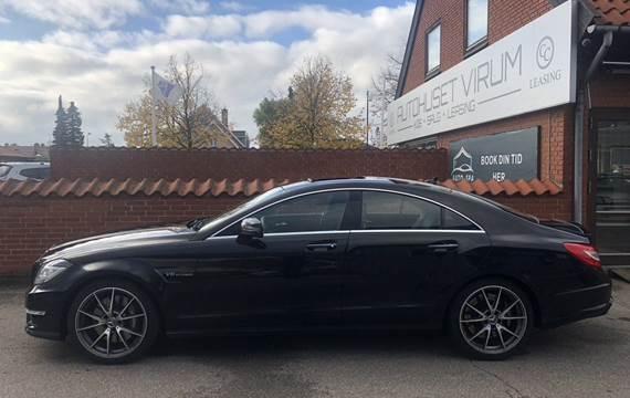Mercedes CLS63 AMG CLS63 - 557 hk SpeedshiftOm Virksomheden: