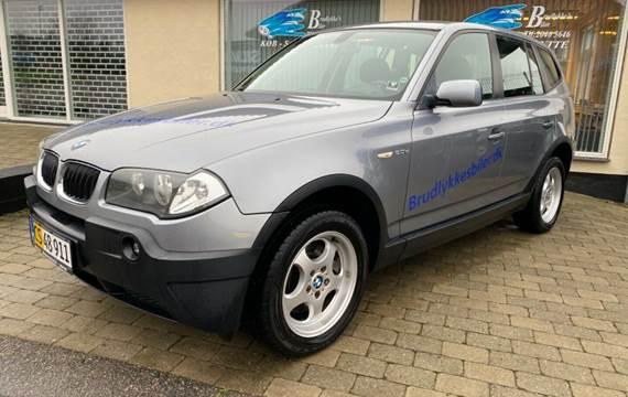 BMW X3 2,0 D Van