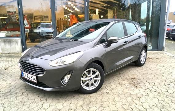 Ford Fiesta 1,0 EcoBoost Hybrid Titanium Start/Stop 125HK 5d 6g