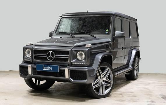 Mercedes G500 5,5 aut.