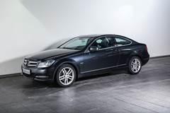 Mercedes C220 2,2 CDi Coupé aut. BE