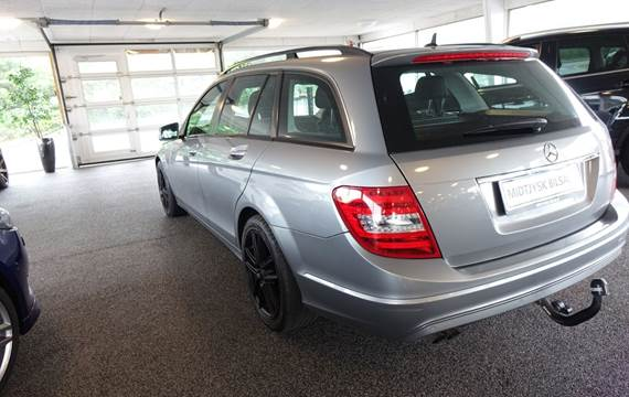 Mercedes C200 2,2 CDi Elegance stc. aut. BE