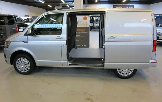 VW Transporter 2,0 TDi 204 Kassevogn DSG kort