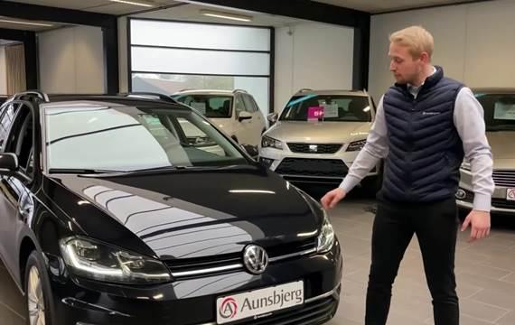 VW Golf VII 2,0 TDi 150 Comfortl. Variant DSG