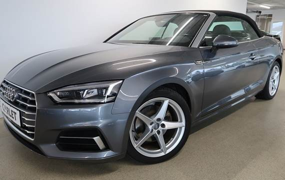 Audi A5 2,0 TFSi 190 Sport Cabriolet S-tr.