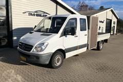 Mercedes Sprinter 313 2,2 CDi R3 Mandskabsvogn m/lad