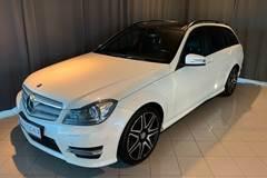 Mercedes C220 2,2 CDi AMG Line stc. aut.