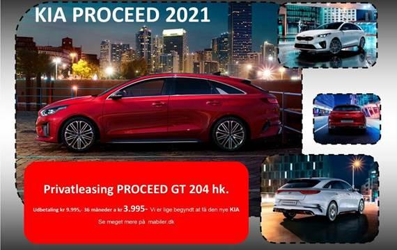 Kia ProCeed 1,6 T-GDi GT DCT