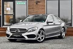 Mercedes C220 2,2 CDi AMG Line aut.