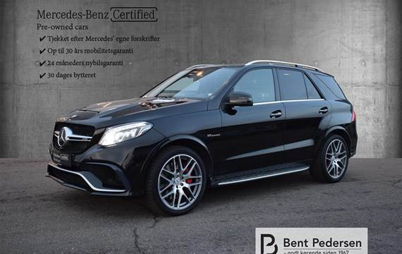 Mercedes E63 AMG 5,5 V8 4-Matic AMG Speedshift  Van 7g Aut.