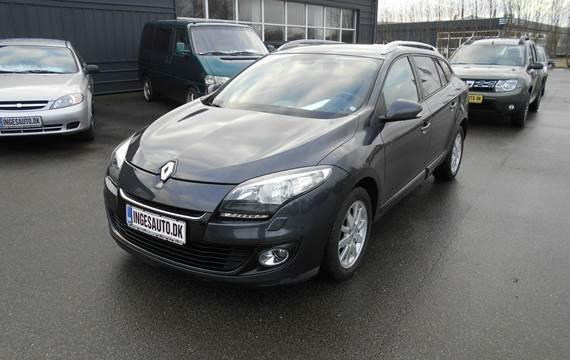 Renault Megane III 1,5 dCi 110 Expression Sport Tourer 5 dørs